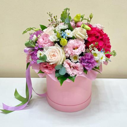 Коробка цветов << Летний полдень >>