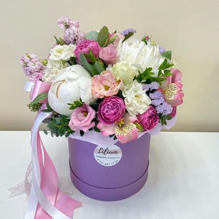 Коробка цветов << Летний вечер>>