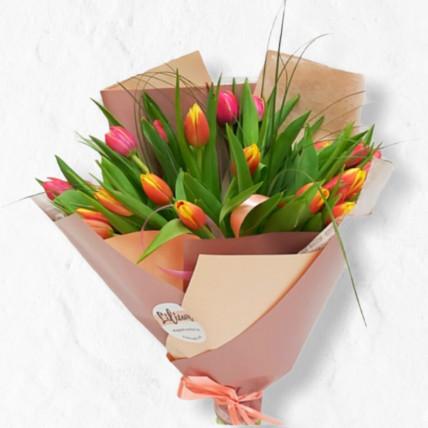 """Букет из тюльпанов """"Ассорти"""""""