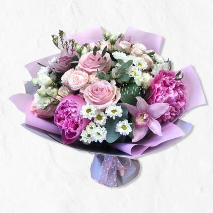 """Букет """" Розовый для тебя """""""