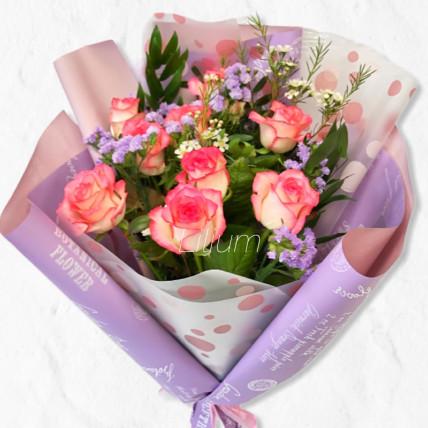 """Букет """" Розы в твой день """""""