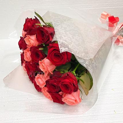 """Букет из 25 роз """"Юбилейный"""""""