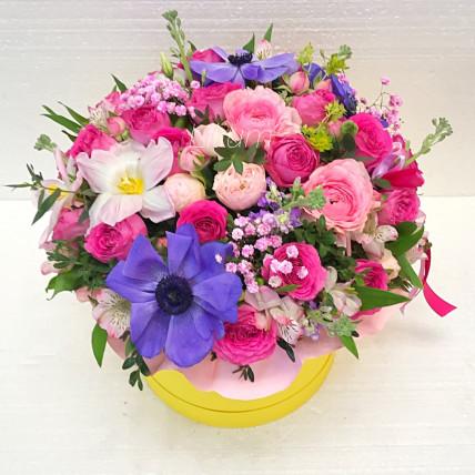 """Цветы в коробке """"Венеция"""""""