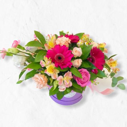 """Коробочка цветов """" Для моей милой """""""