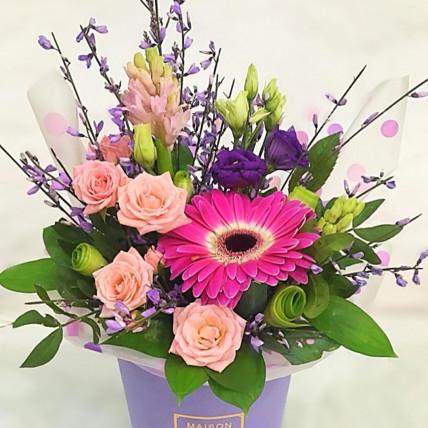 """Цветы в коробке """" Для настроения"""""""