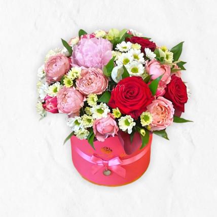 """Цветы в коробке """" Мелодия """""""