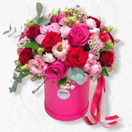 """Цветы в коробке """" Для моей мамы """""""