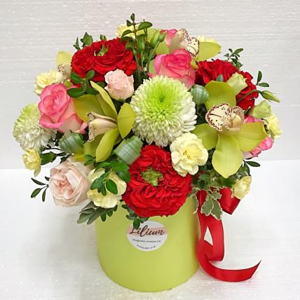"Коробка цветов "" Цветущий сад"""