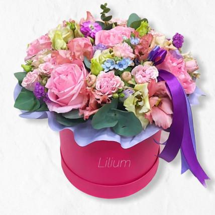 """Цветы в коробке """"Малибу"""""""