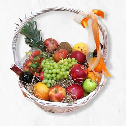 """Корзина с фруктами """" Фруктовый рай"""""""
