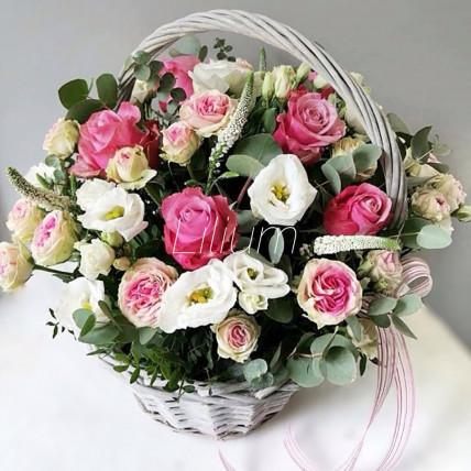 """Корзина цветов """"Гармония"""""""