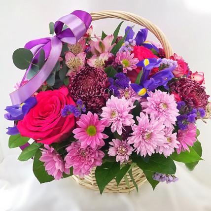 """Корзина цветов """"Вивальди"""""""