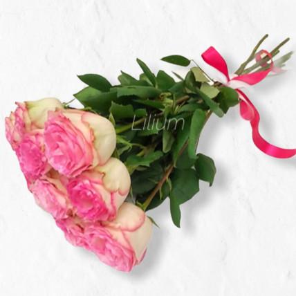 Букет из 11 крупных роз