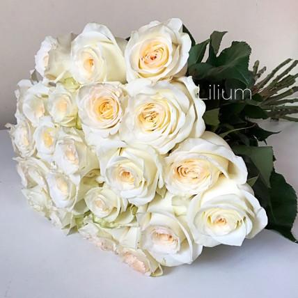 Букет из 15 элитных роз