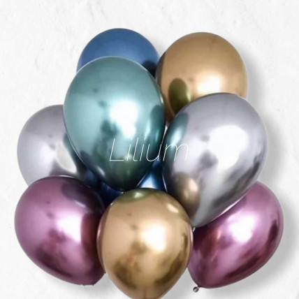 Сет из 7 воздушных шаров